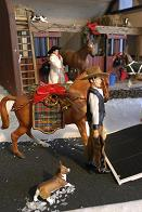 dadscats BREYER STOREFONT HOLIDAY DISPLAY.JPG